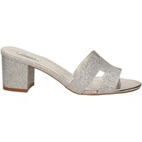 Zapatos Mujer Chanclas L'amour GLITTER argento