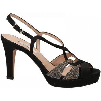 Zapatos Mujer Sandalias L'amour RASO NIGHT nero-oro