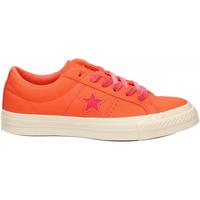 Zapatos Mujer Zapatillas bajas Converse ONE STAR OX TURF orange-strawberry-jam
