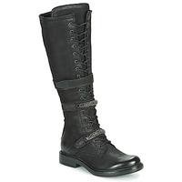 Zapatos Mujer Botas urbanas Mjus CAFE HIGH Negro