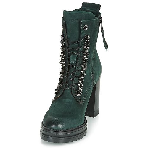 Mjus Zapatos Mujer Botines Verde Amaranta L4Rj5A