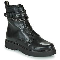 Zapatos Mujer Botas de caña baja Mjus TRIPLE STRAP Negro