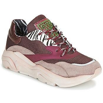 Zapatos Mujer Zapatillas bajas Meline JOLI Rosa / Beige
