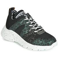 Zapatos Mujer Zapatillas bajas Meline LETTE Negro / Verde