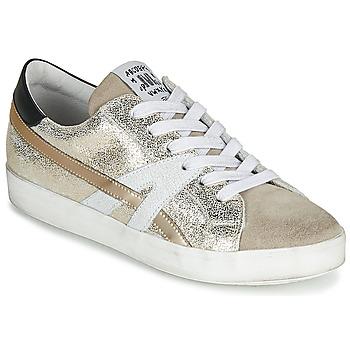 Zapatos Mujer Zapatillas bajas Meline MEL Oro