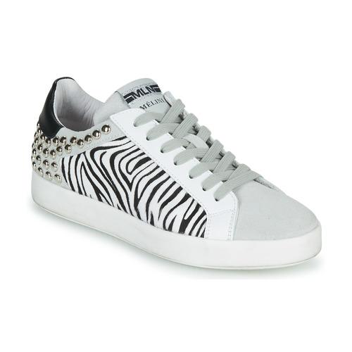 Zapatos Mujer Zapatillas bajas Meline MOLI Beige / Cebra