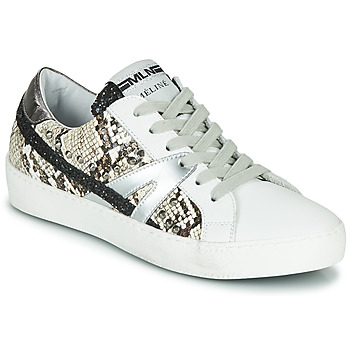 Zapatos Mujer Zapatillas bajas Meline  Blanco / Pitón