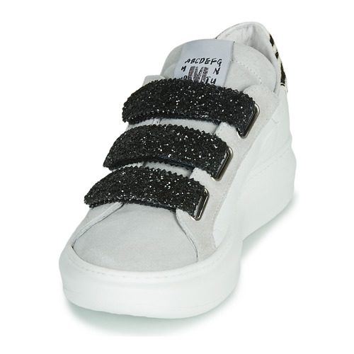 Mujer BlancoGlitter Bajas Zapatos Scratcho Meline Zapatillas 6vfyY7gb
