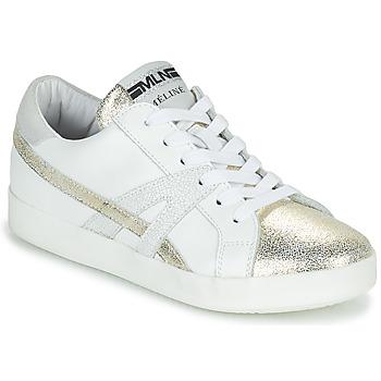 Zapatos Mujer Zapatillas bajas Meline  Blanco