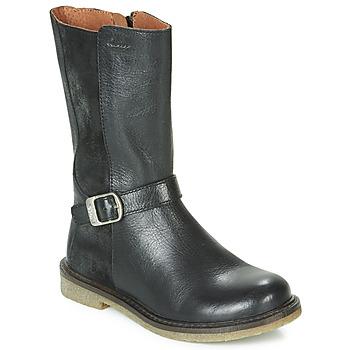 Zapatos Niña Botas urbanas Aster WALI Negro