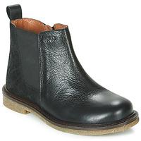 Zapatos Niña Botas de caña baja Aster WAXOU Negro
