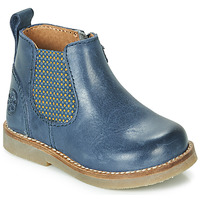 Zapatos Niños Botas de caña baja Aster STIC Azul
