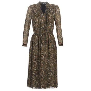 textil Mujer vestidos cortos Deeluxe SELENA Negro