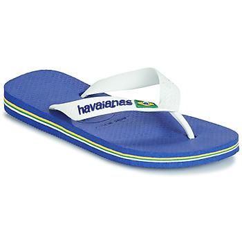 Zapatos Niños Chanclas Havaianas BRASIL LOGO Marino