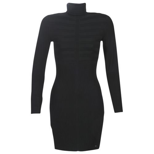 Morgan RMENTO Negro - Envío gratis | ! - textil vestidos cortos Mujer