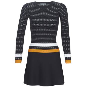 textil Mujer Vestidos cortos Morgan ROXFA Marino / Blanco / Amarillo