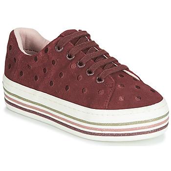 Zapatos Niña Zapatillas bajas Gioseppo FUSSEN Burdeo