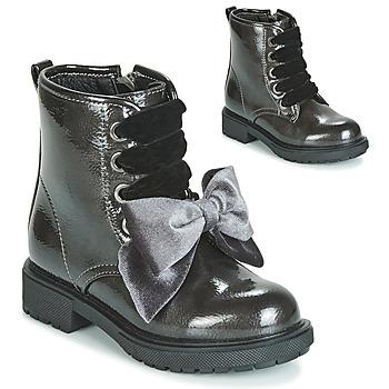 Zapatos Niña Botas de caña baja Gioseppo LEHRE Gris