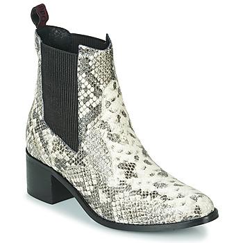 Zapatos Mujer Botines Gioseppo MIKKELI Negro / Blanco