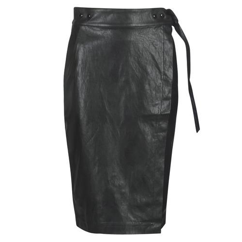 Replay W9310-000-83468-098 Negro - Envío gratis | ! - textil Faldas Mujer