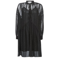 textil Mujer vestidos cortos Replay W9525-000-83494-098 Negro
