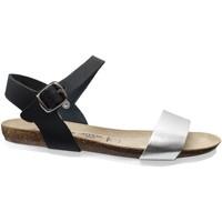 Zapatos Mujer Sandalias Amoa Hyeres Cuero negro