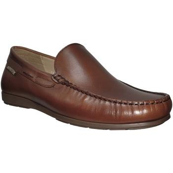 Zapatos Hombre Mocasín Mephisto ALGORAS Cuero marrón medio