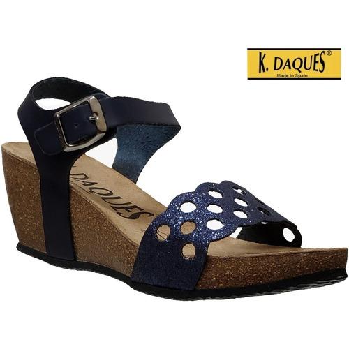 Zapatos Mujer Sandalias K. Daques Jina marino