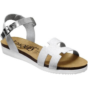 Zapatos Mujer Sandalias K. Daques Delta Blanco, Blanca
