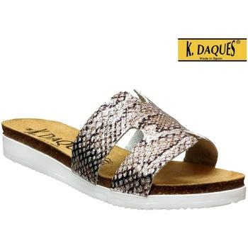 Zapatos Mujer Chanclas K. Daques Deba gris