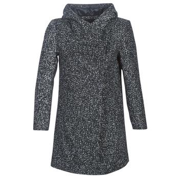 textil Mujer Abrigos Casual Attitude LOUA Gris / Negro