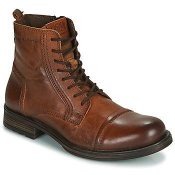 Zapatos Hombre Botas de caña baja Jack & Jones JFW RUSSEL LEATHER Cognac