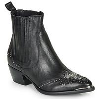 Zapatos Mujer Botines Ikks BP80075-03 Negro