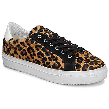 Zapatos Mujer Zapatillas bajas Ikks BP80245-62 Leopardo