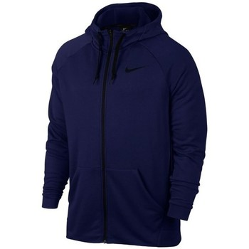 textil Hombre sudaderas Nike Dry FZ Fleece Hoodie Trening Azul marino