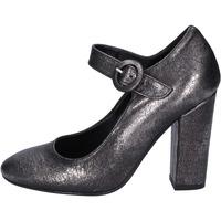 Zapatos Mujer Bailarinas-manoletinas Nacree de salón cuero sintético gris