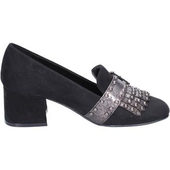 Zapatos Mujer Mocasín Nacree mocasines gamuza sintética negro