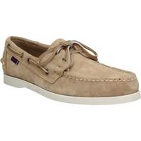 Zapatos Hombre Zapatos náuticos Sebago 121665 Beige