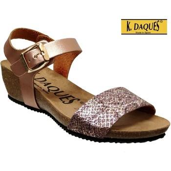 Zapatos Mujer Sandalias K. Daques Estan rosa