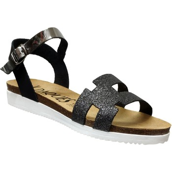 Zapatos Mujer Sandalias K. Daques Delta negro