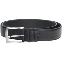 Accesorios textil Hombre Cinturones Made In Italia 04 Negro