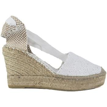 Zapatos Mujer Alpargatas Vidorreta Cuña  05900 Blanco Blanco