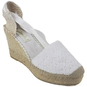 Zapatos Mujer Alpargatas Vidorreta Cuña  05900 Blanco blanc