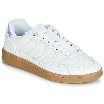 Zapatos Mujer Zapatillas bajas Hummel HB TEAM SNOW BLIND Blanco