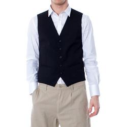 textil Hombre Chaleco de traje Selected 16052660 Nero