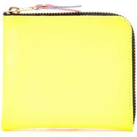 Bolsos Mujer Cartera Comme Des Garcons Cartera  de piel amarilla y naranja Multicolor