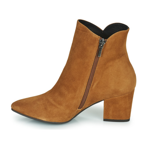 Fericelli Zapatos Mujer Botines Camel Jordenone l3TcKF1J