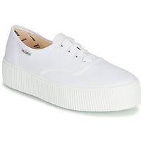 022c6810 Zapatos Mujer Zapatillas bajas Victoria 1915 DOBLE LONA Blanco
