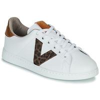 Zapatos Mujer Zapatillas bajas Victoria TENS PRINT Blanco
