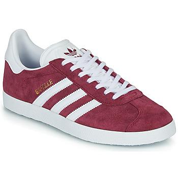 Zapatos Zapatillas bajas adidas Originals GAZELLE Burdeo